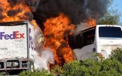 BREAKING NEWS: Cam High Student Injured in Fiery Bus Crash