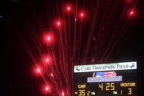 Cam High Football Ends Losing Streak at Homecoming Game