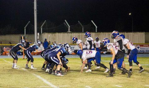 Cam High Football Loses on Senior Night