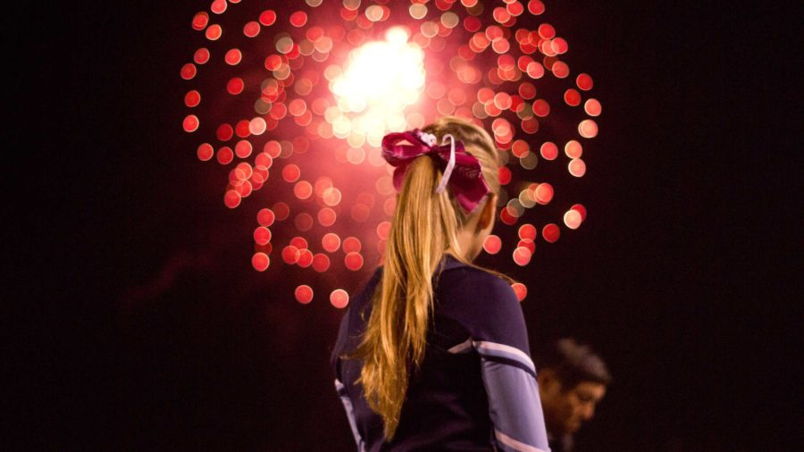 Cam+High+cheerleader%2C+Tori+Bertok%2C+freshman%2C+spectating+the+firework+show.