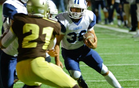 The Scorpions fail to make the grade against St. Francis High School on November 22.