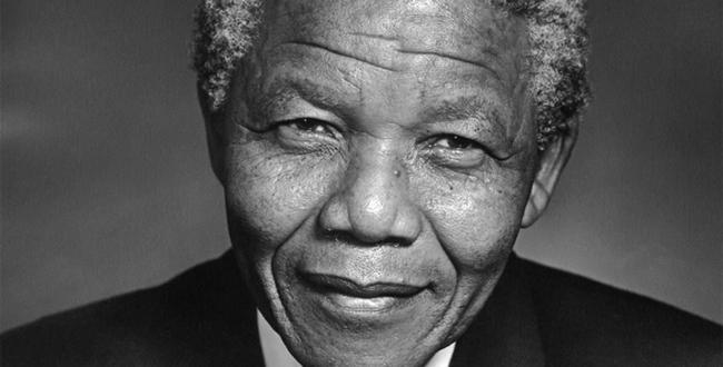 Photo of Nelson Mandela, former president of South Africa and Nobel Peace Prize winner, taken from Forbes Magazine