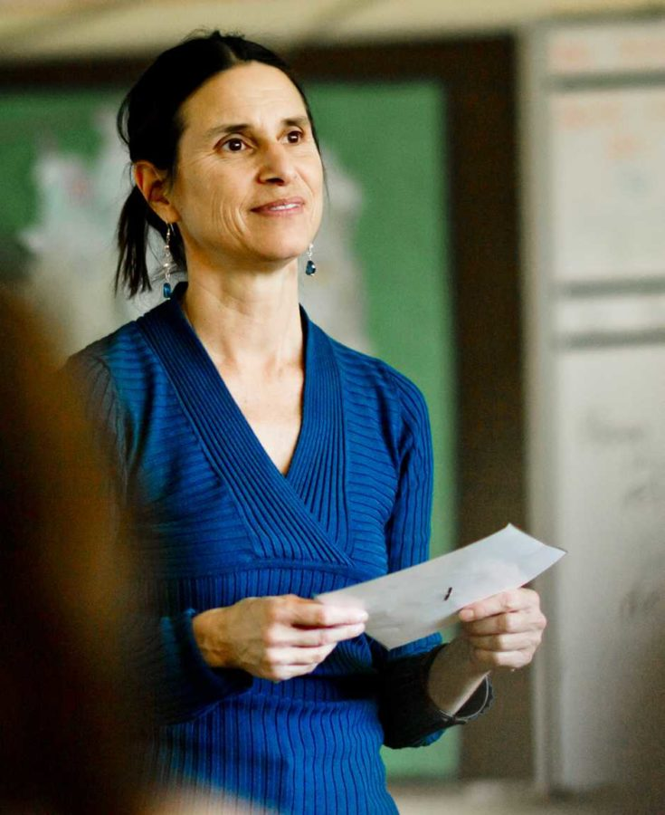 Ms. Anna Sobreanis, foreign language teacher who has traveled extensively with the Peace Corps, says gap years are useful and character-building.