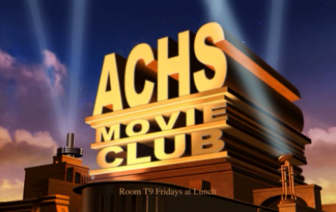 The ACHS Movie Club logo.