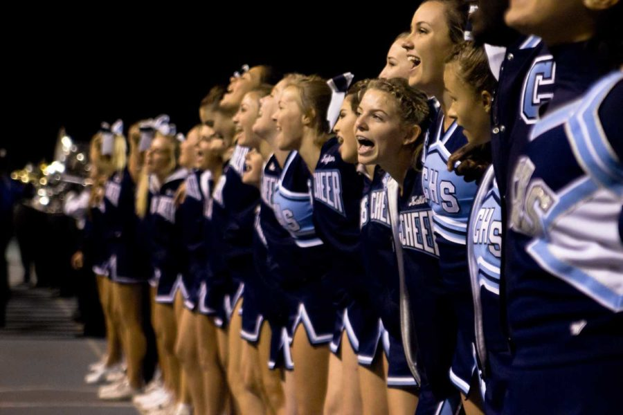 Cam Highs Varsity Cheer and Pep Squad took first place in Nationals last month.