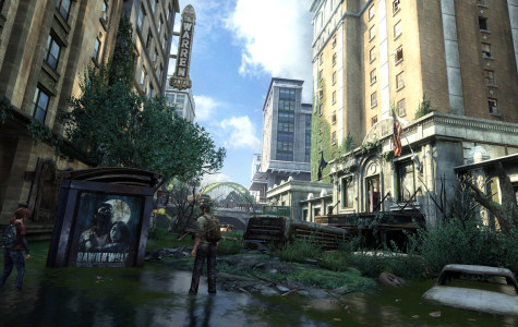 The Last of Us flooded street screenshot