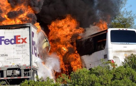 Cam High Student Injured in Fiery Bus Crash