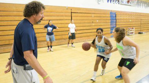 Lady Scorpions varsity basketball win at Oak Park