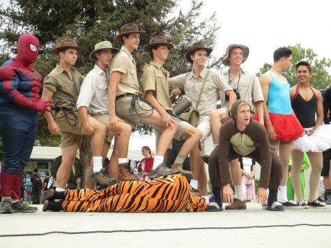 Costumes contending for the class cup contest ranged from superheros to safari hunters to ballerinas.