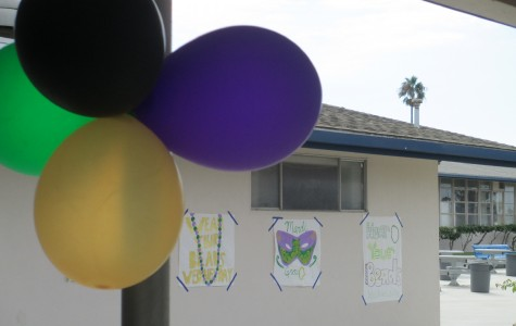 Cam High prepares for the approaching Mardi Gras Homecoming Dance by decorating Main Hall and a themed spirit week.