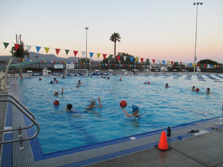 The Cam High boys water polo team faced a heavy loss against the Rio Mesa Spartans on Monday, ending with a score of 9-21.