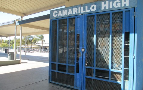 Cam High's vending machines feature new and healthier products.