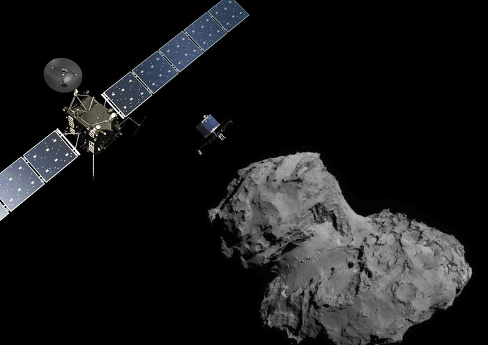 Spacecraft+Rosetta+successfully+deployed+its+lander+on+Comet+67P%2FC-G+on+November+12+of+this+year.