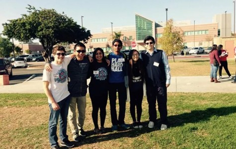 Cam High students were a part of the GeoBowl team this year. (From left to right, Brian Raymond, Ethan Chen, Shivani Govil, Avinash Nandakumar, Amy Shim, and Omeed Taviosoli.)