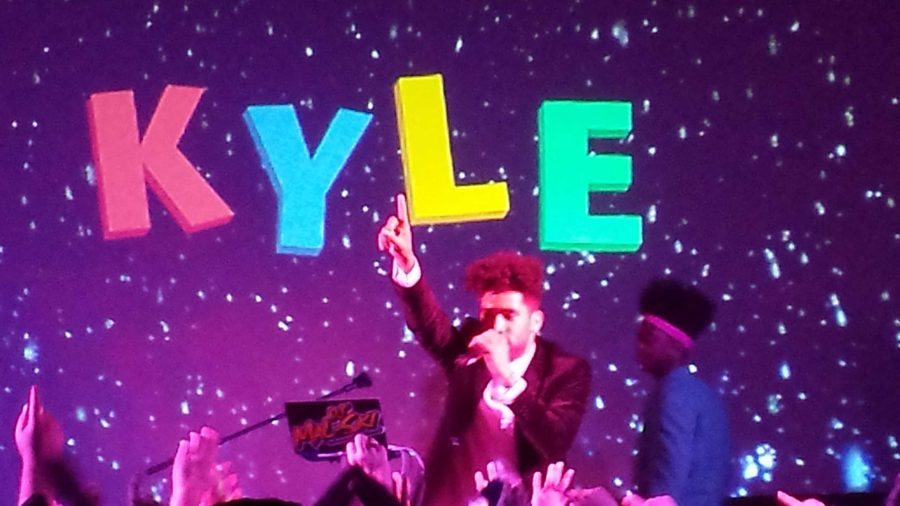 Super Duper Kyle performing live at Cam High's first ever Winter Formal.