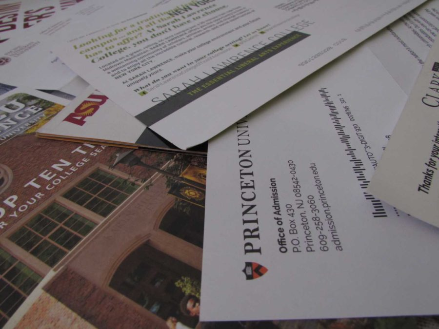 Colleges send out mail trying to entice high school students, yet many Cam High students are still unsure about going to  college.