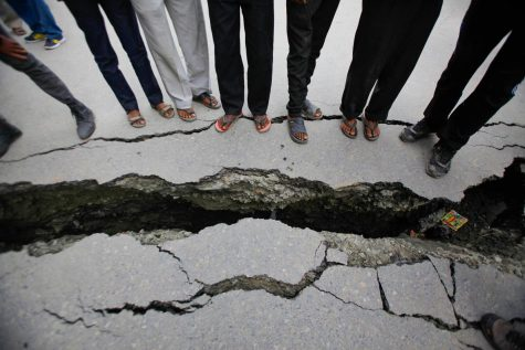 nepal infrastructure damage