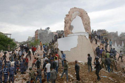 nepal rubble