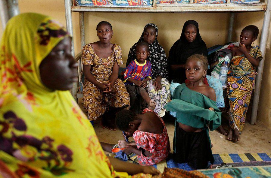 Female and children captives of the Nigerian terrorist group Boko Haram were recently liberated by Nigerian Military.