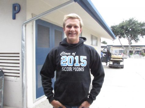 David Gatchel, senior, plans to attend the University of Southern California