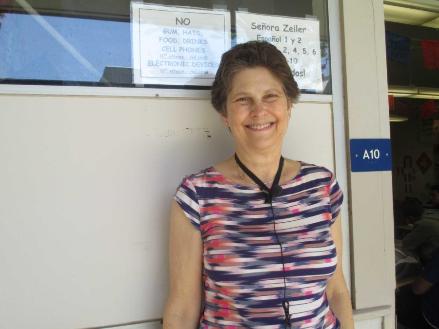 Mrs. Sue Zeiler has announced her plans to retire at the end of the 2014-2015 school year. She will be the only Cam High teacher this year to do so.