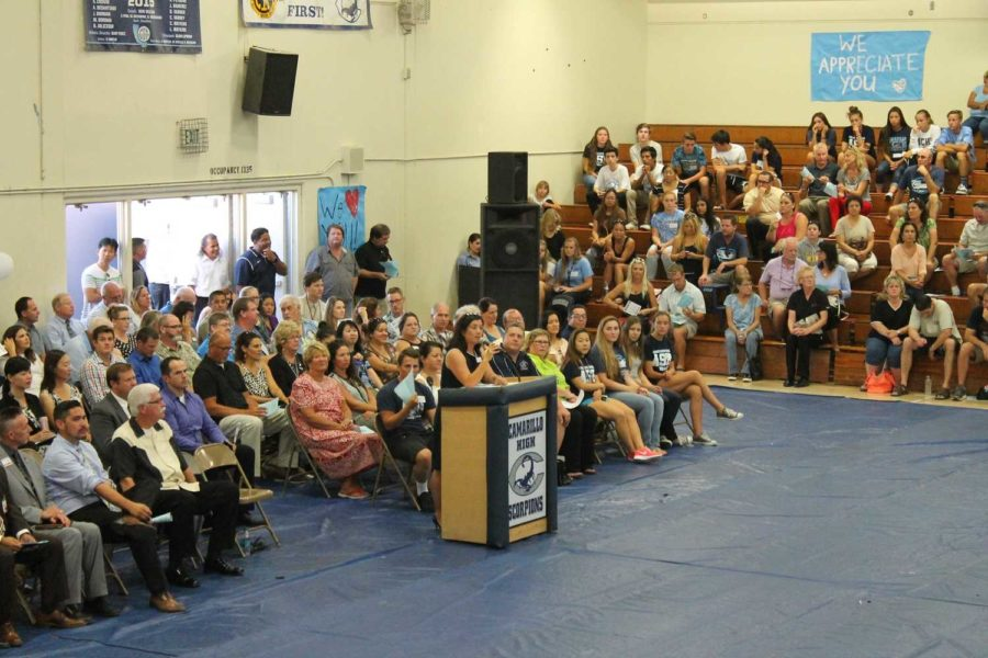 News Brief: Parents visit campus for Back to School Night