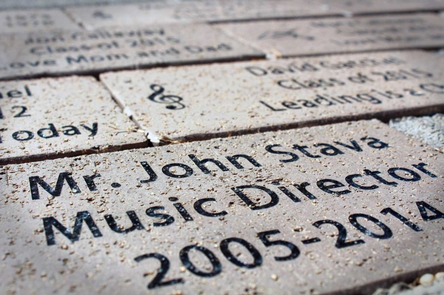 A+brick+donated+by+the+ACHS+Music+Boosters+for+Mr.+John+Stava%2C+who+retired+in+2014.