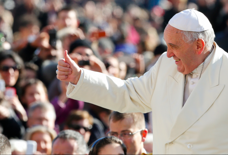 Pope Francis visited America for the first time this September.