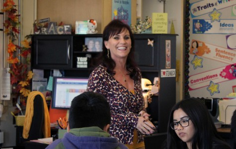 Long-time English teacher changes career