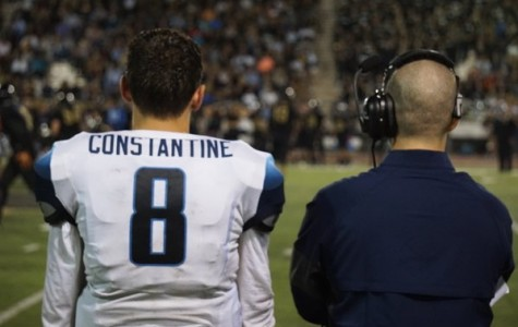Jake Constantine on the field during a recent Scorpions football game.