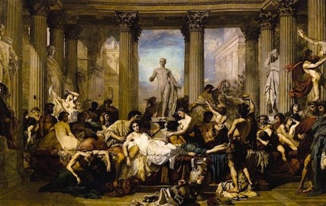 Prior to Christmas, the Romans celebrated Saturnalia, a week-long festival known for its tradition of gift giving.