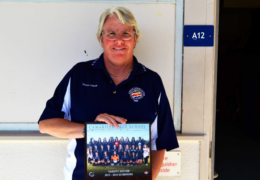 Ms. Lawler, English teacher, plans to retire after 30 years of coaching girls soccer at the close of 2015-16 season.