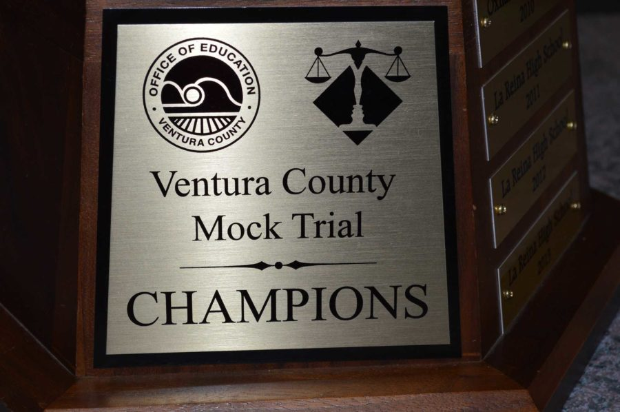 Cam High's 'Scorpions' mock trial team won the Ventura County Championship last night.