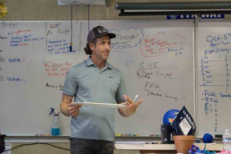 Mr. Avila, Ag. Mechanics