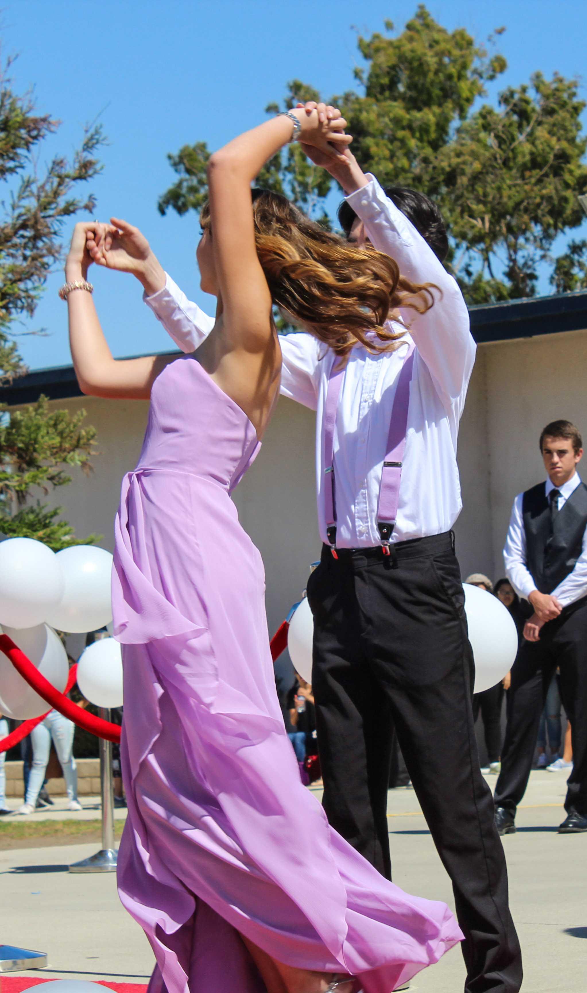 Melissa Wasylewski (senior) & Nick Garcia (senior)