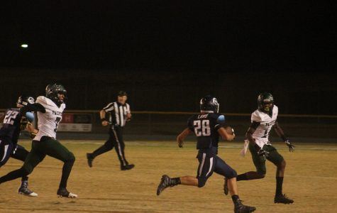 Cam High varsity boys football lost to Pacifica 29-48  Friday night.