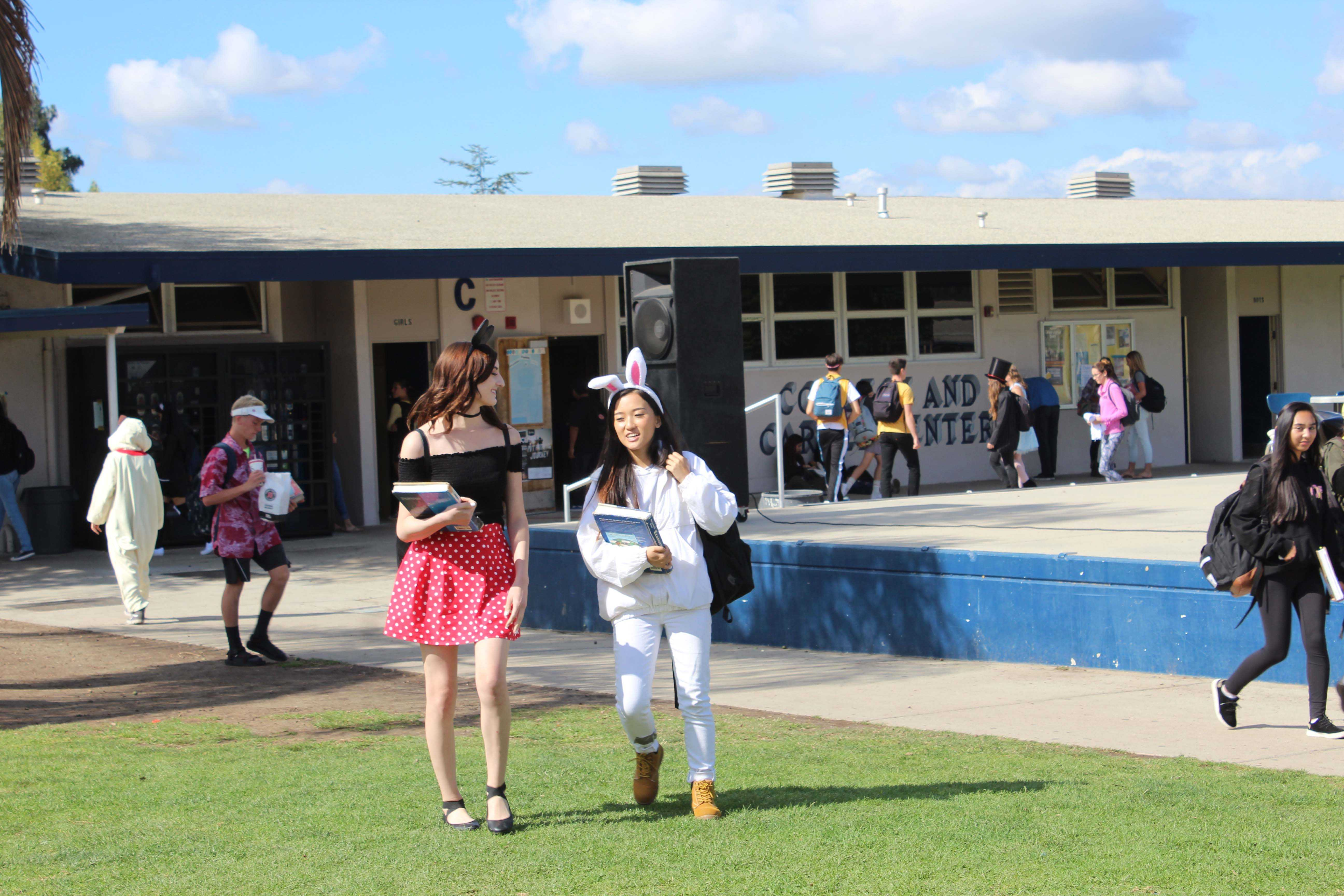 Brittney Massey and Pearl Thao, seniors
