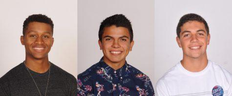 Jonah Cotrell, Daniel Gomez, and Caden Muscarella