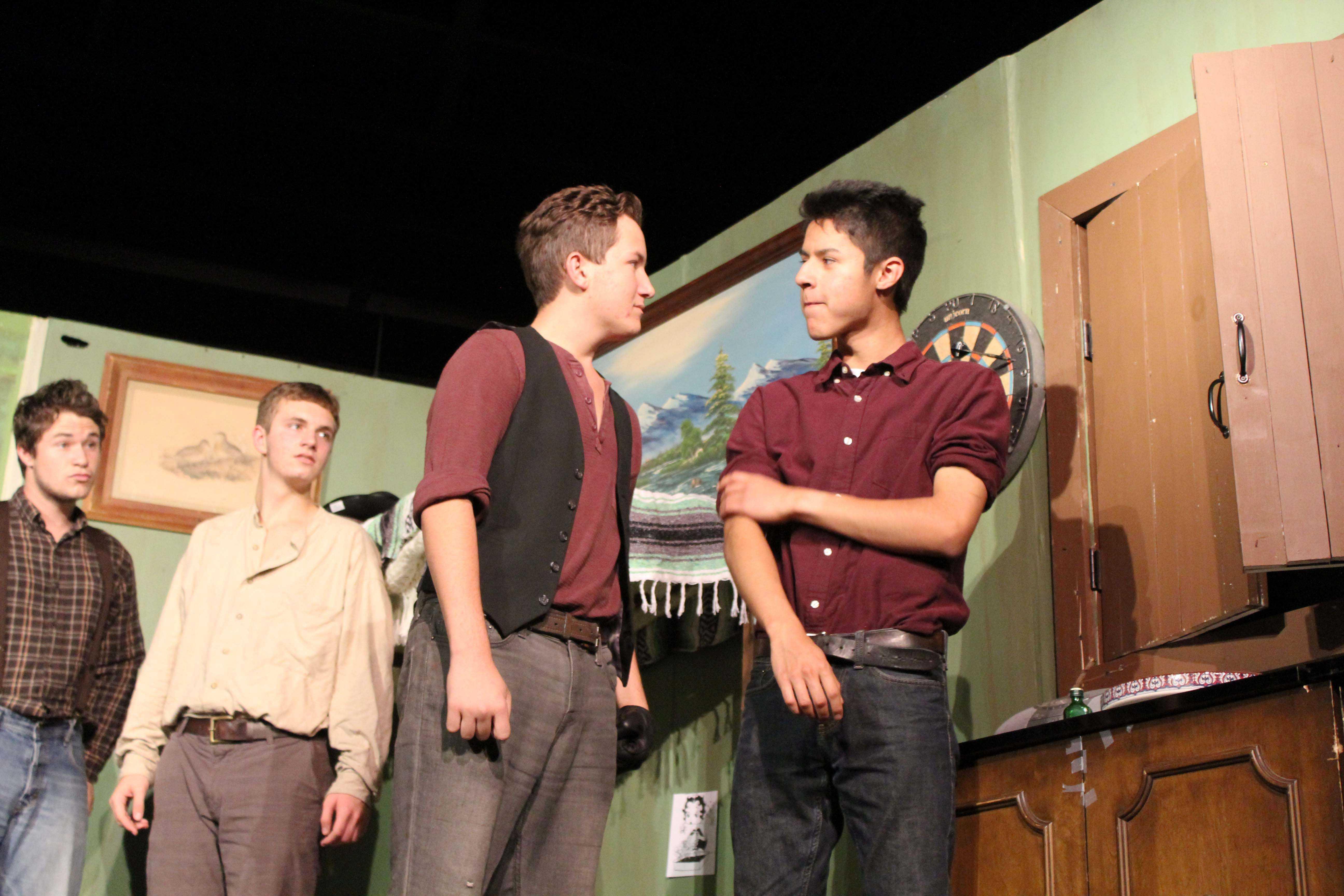 Luke James and Ivan Escalera (seniors)