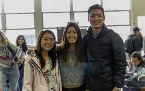 Helen Zhang, Joyce Seok, and Christopher Nguyen (seniors) were three out of the five semifinalists to earn the National Merit scholarship. Alex Li and Marcello Ma (seniors) are not pictured.