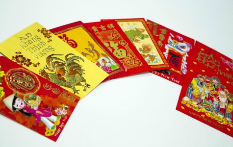 As a Chinese New Year tradition, grandparents receive red envelopes from their children and grandchildren as tokens of respect.