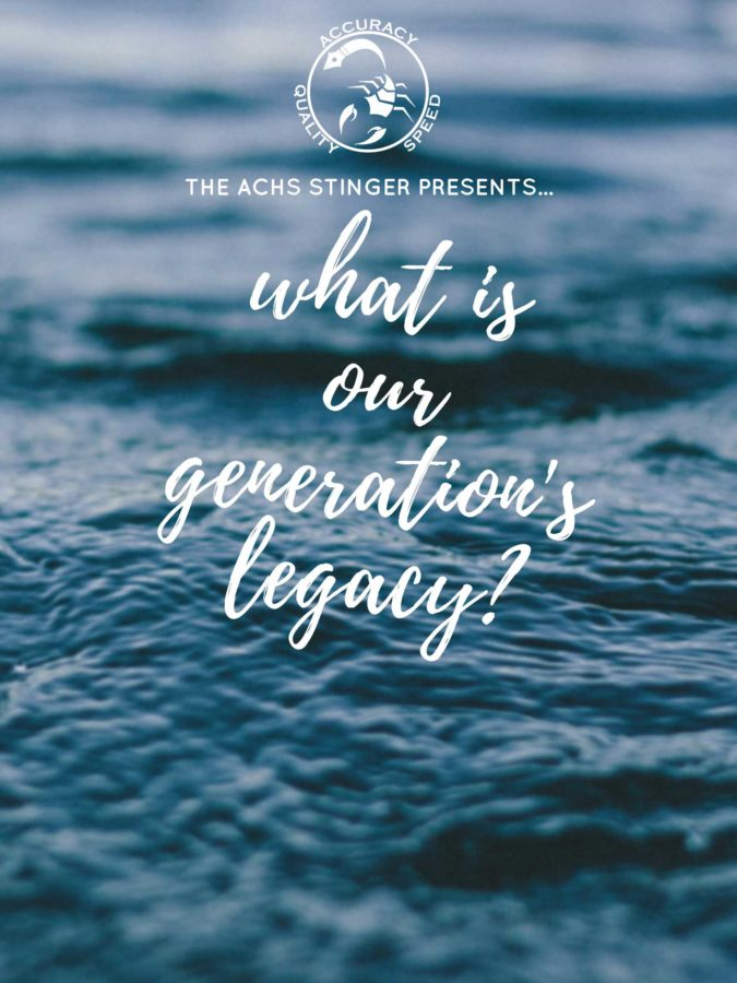 What is our Generation's Legacy_ (Blank)