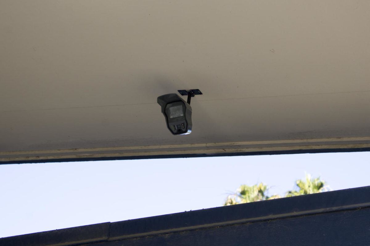 Surveillance+cameras+were+installed+around+the+campus.
