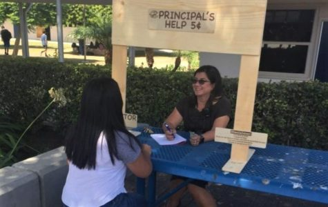 Have a Question? Visit the Principal's Booth