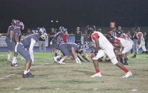 On Nov. 2, 2018, Cam High's varsity football team played against Rio Mesa.