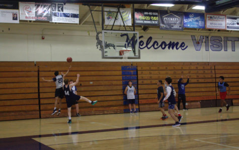 Cam High Boys Basketball practicing at home on 12/4/2018.