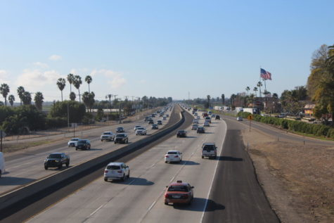 Freeway at Central Ave in Camarillo.