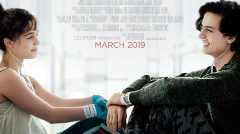 Promotional image for Five feet apart, released March 15th, 2019.
