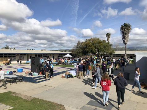 Cam High encourages students to become more active and eat healthier at the Health Fair on March 22, 2019.