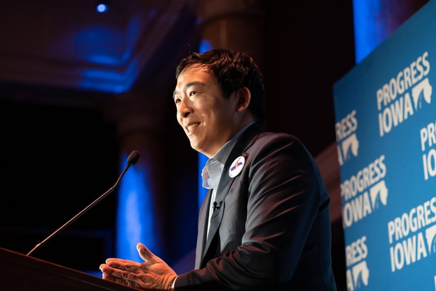 Andrew+Yang+is+one+of+the+Democratic+presidential+candidates+for+the+2020+election.